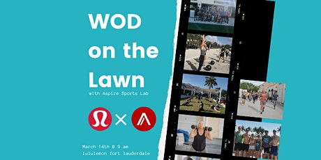WOD on the Lawn tickets