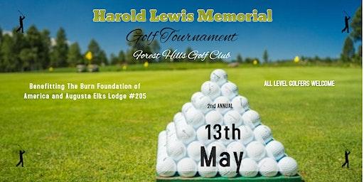 2nd Annual Harold Lewis Memorial Golf Tournament