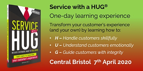 Service with a HUG one-day learning experience 7th April 2020 tickets