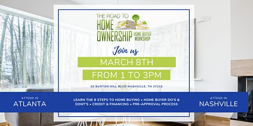 The Road to Homeownership Homebuyer Workshop