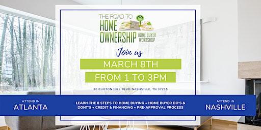 The Road to Homeownership Homebuyer Workshop