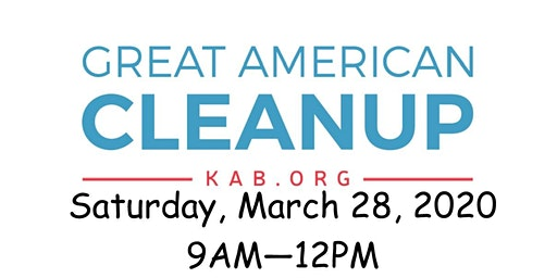Keep Thomas County Beautiful Great American Cleanup Day 2020