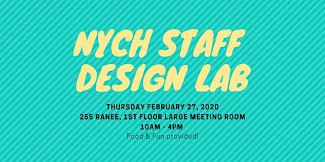 NYCH Staff Design Lab tickets