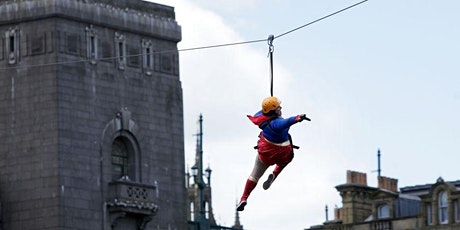 Tynebridge Zip Slide Sun 26th April 2020 - Be a Mental Health Superhero tickets