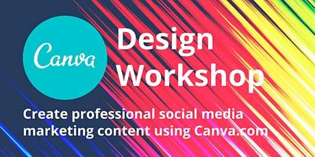 Canva Social Media Design for Beginners tickets