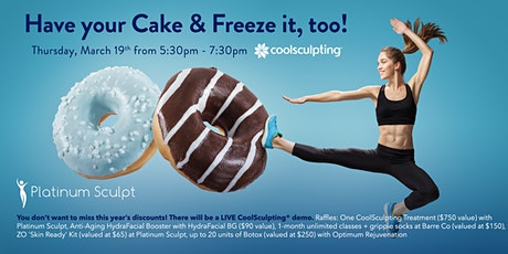 Have your Cake and Freeze it, too!  tickets