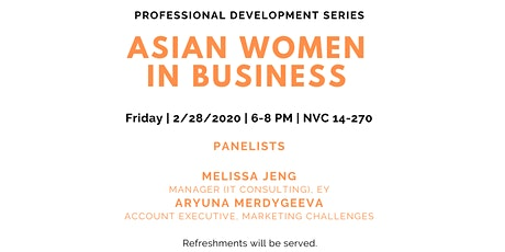 Asian Women in Business tickets