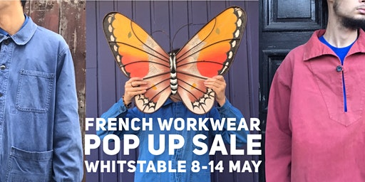 French Workwear Pop Up Sale - Whitstable