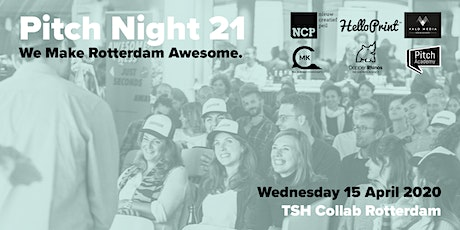 Awesome Foundation Rotterdam PITCH NIGHT 21 tickets