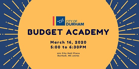 Budget Academy tickets