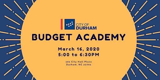 Budget Academy