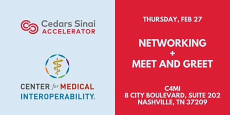 Cedars-Sinai Accelerator: Meet and Greet Happy Hour Nashville! tickets