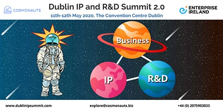 2nd annual Dublin IP and R&D Summit tickets