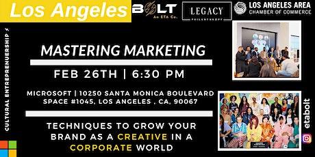Cultural Entrepreneurship series- Mastering Marketing as a Creative. tickets