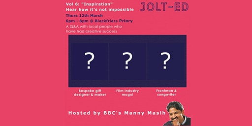 "JOLT-ED Download Series Vol 6: ""Inspiration"""