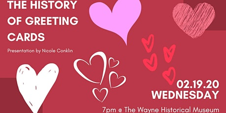 RESCHEDULED - The History of Greeting Cards tickets