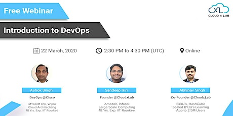 Free Online Webinar on Introduction to DevOps | Live Instructor-led Session tickets