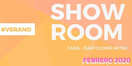SHOWROOM #Verano2020 Febrero 22 y 29 tickets