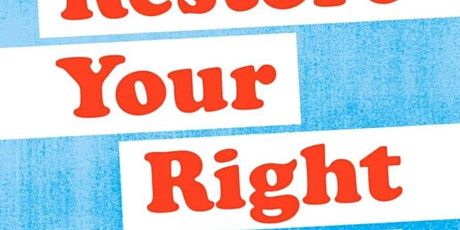 Restore your rights with Sonia Ae Martinez tickets