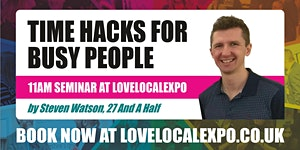 Time Hacks for Busy People - 11am seminar at...