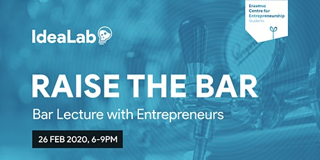 Bar Lecture with Entrepreneurs - IdeaLab (ECE Students) tickets