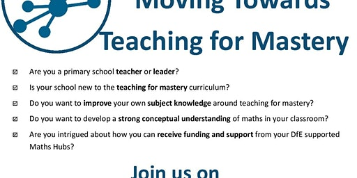 Moving Towards Teaching for Mastery event