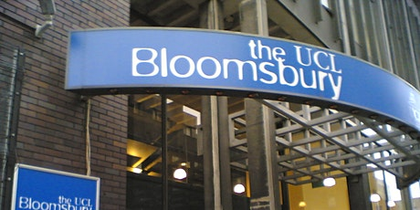 UCLH@Bloomsbury Theatre: Using data to improve health: your consent journey tickets