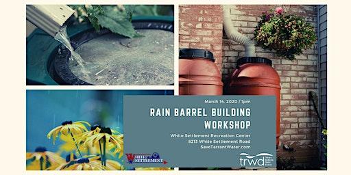 Rain Barrel Building Workshop