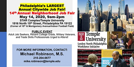 14th Annual Neighborhood Job Fair tickets