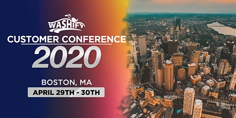 Washify Customer Conference 2020 tickets