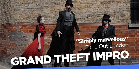 Hoopla: Grand Theft Impro, Hat-Trick  & Speechless. tickets