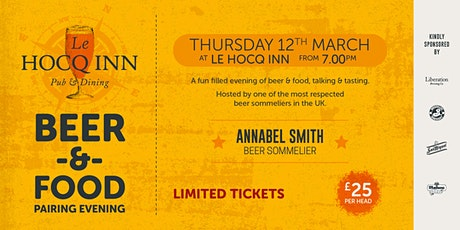 Le Hocq Beer & Food Pairing Evening tickets