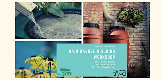 Rain Barrel Building Workshop