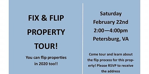 Fix and Flip Property Tour