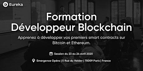 Formation Développeur Blockchain du 23 au 24 avril 2020 billets