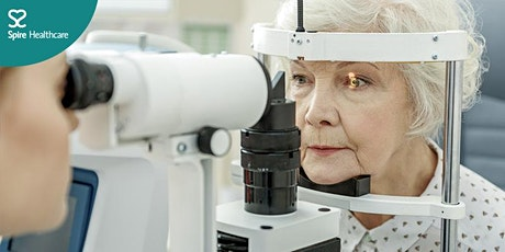 Meet the Experts: Cataract and glaucoma information evening tickets