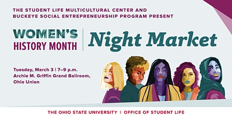 Women's Month Night Market at OSU tickets
