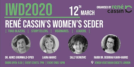 International Women's Day 2020: Women's Seder tickets
