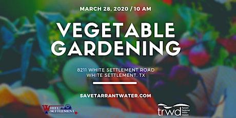 Vegetable Gardening Class tickets