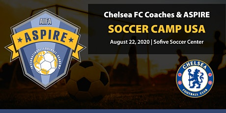 The Chelsea FC Coaches & Aspire International One Day Soccer Camp USA 2020 tickets