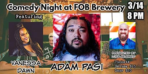 ADAM PASI at FOB Brewery