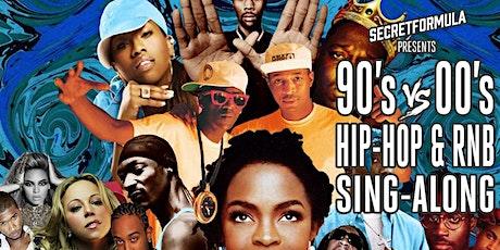 90's vs 00's Hip Hop & RnB Sing-Along tickets