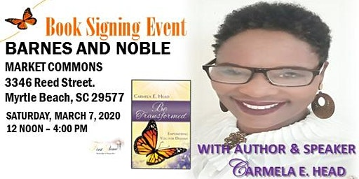 Carmela E. Head, Author & Speaker, Book Signing Event at Barnes & Noble