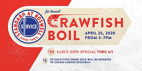 Standard at Roswell Crawfish Boil 2020 tickets