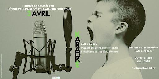 Karaoké école Paul Painlevé