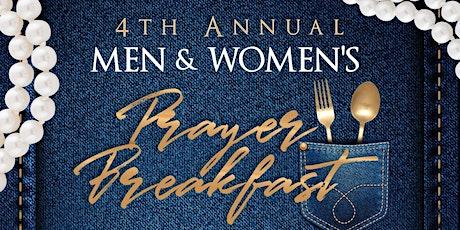 4th Annual Men & Women's Prayer Breakfast tickets