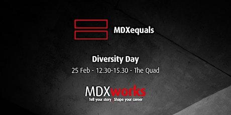 MDXequals Diversity Day tickets