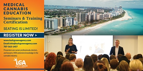 Florida One Day Medical Marijuana Masterclass Workshop - Miami tickets