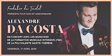 Alexandre Da Costa en concert avec la Formation Musicale Intensive - PST billets