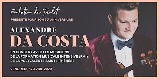 Alexandre Da Costa en concert avec la Formation Musicale Intensive - PST
